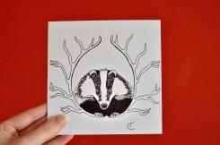 badger illustration